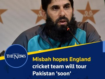 #Misbah hopes #England cricket team will tour #Pakistan 'soon'  Details:   #TheN... 4