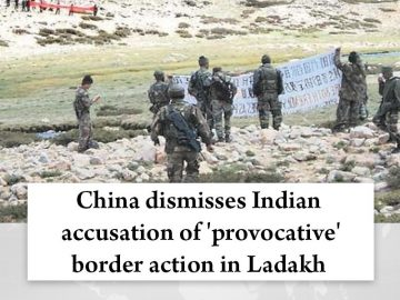 #China dismisses Indian accusation of 'provocative' #border action in #Ladakh  R... 5