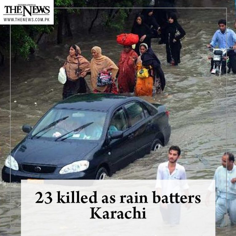 Parts of #Karachi were submerged after receiving #record 223mm of rain in the la... 3