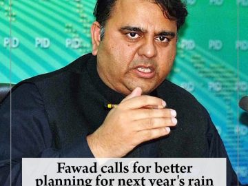 #Fawad calls for better planning for next year's rain spell in #Karachi  Read mo... 8