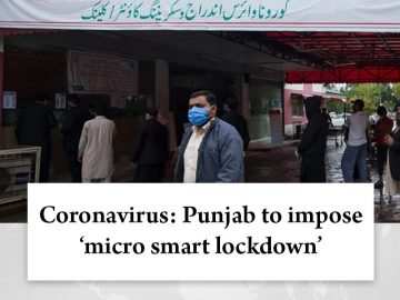 Under the 'micro smart #lockdown' small localities such as one building with mul... 1