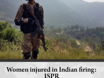Women injured in Indian firing: #ISPR  Details:   #TheNews 5