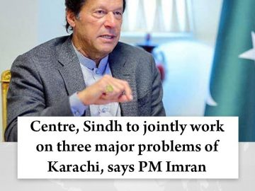 Centre, #Sindh to jointly work on three major problems of #Karachi, says #PMImra... 14
