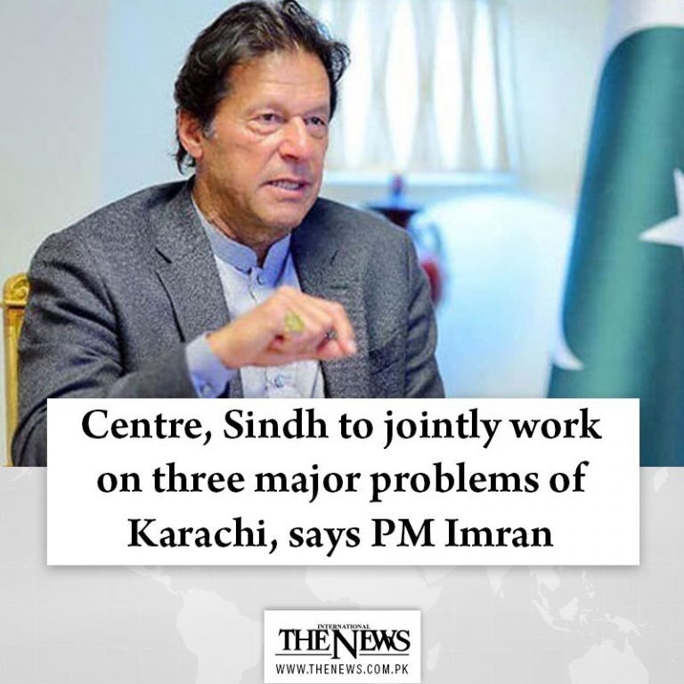 Centre, #Sindh to jointly work on three major problems of #Karachi, says #PMImra... 3