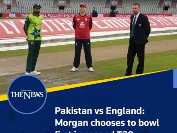 Pakistan vs England: #Morgan chooses to bowl first in second #T20  Details:   #T... 2