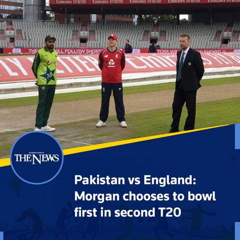 Pakistan vs England: #Morgan chooses to bowl first in second #T20 Details: #T... 3