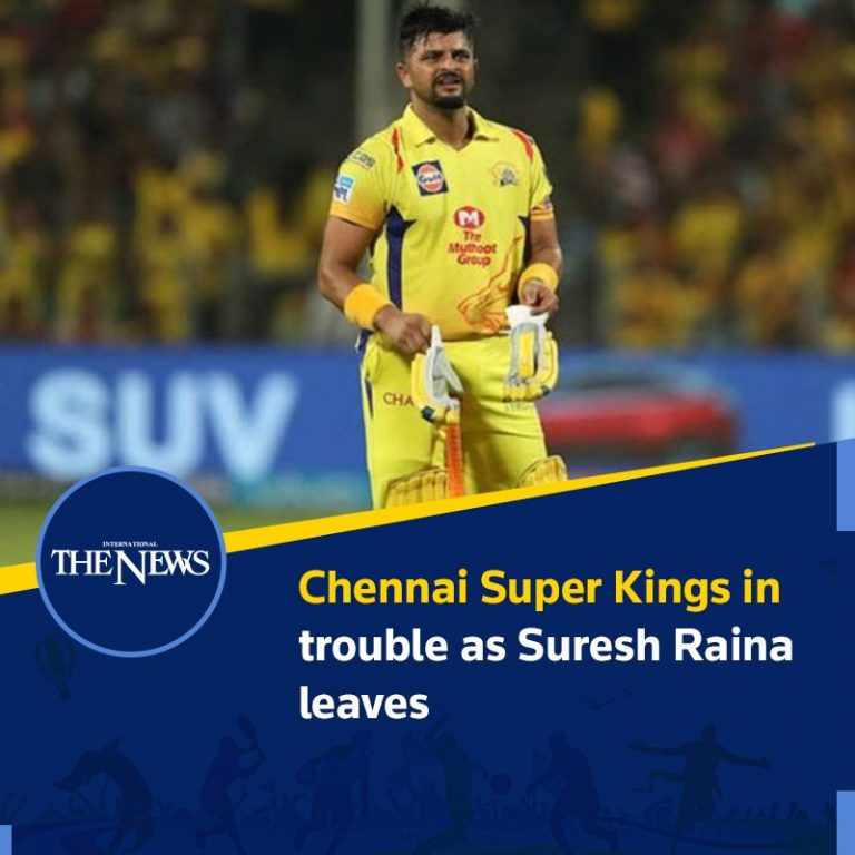 #ChennaiSuperKings in trouble as #SureshRaina leaves Details: #TheNews 3