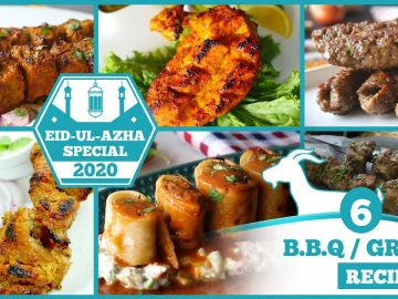 6 BBQ / Grill Recipes By Food Fusion (Bakra Eid Special)