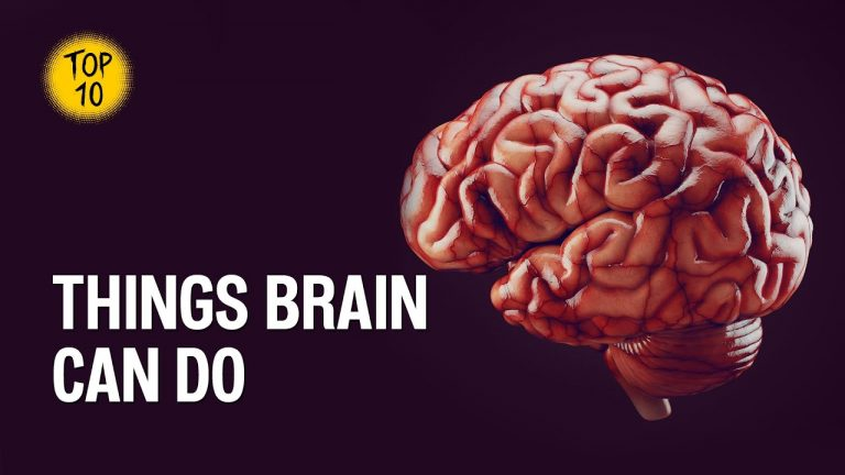 Top 10 Amazing things your brain can do