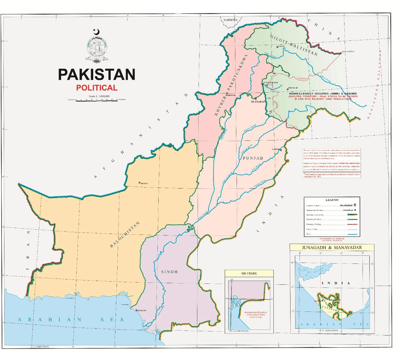 PM unveils new political map of Pakistan 6