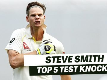Cream of the crop: Smith's top Test knocks