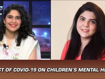 Impact of COVID-19 on children's mental health | Coffee Table | Indus News