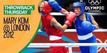 Mary Kom vs Maroua Rahali - Women's Boxing Quarter-Final | Throwback Thursday