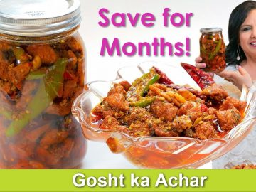 Save your Meat for Months! Easy Gosht ka Achar Recipe in Urdu Hindi -RKK
