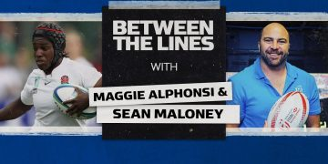 Maggie Alphonsi | Leaving a legacy and winning RWC 2014 🏆 | Between The Lines 1