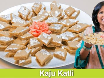Simple 4 Ingredient Homemade Mitahi Kaju ki Barfi Kaju Katli Recipe in Urdu Hindi -RKK