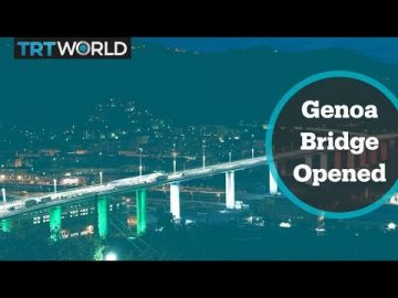 Italy opens new Genoa bridge