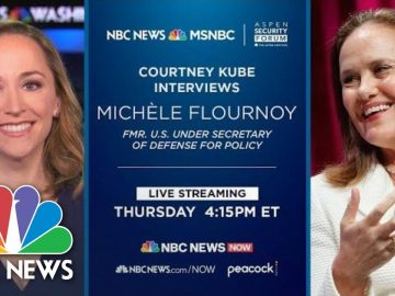 Watch: Discussion On Modernizing The U.S. Dept. Of Defense | NBC News