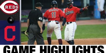 A 10-run 7th inning lifts Indians in 13-0 win | Reds-Indians Game Highlights 8/6/20