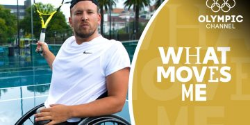 How a wheelchair tennis champ first found his confidence | What Moves Me