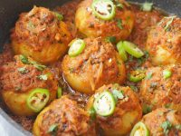 Achari stuffed Tinday/ Bharwan Tinday  Recipe By Food Fusion