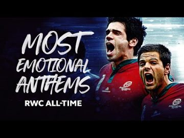 Most Passionate National Anthems in Rugby World Cup History 🔊 6