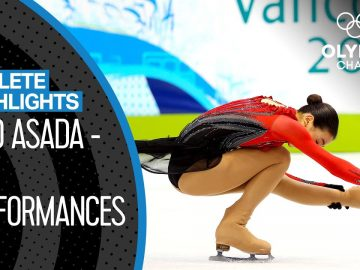 Mao Asada 🇯🇵  - Olympic Silver Medallist & Guiness World Record Holder! | Athlete Highlights 3