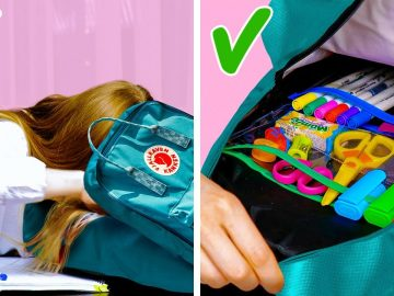 25 Awesome High School Organizing Tricks || School Crafts And Hacks