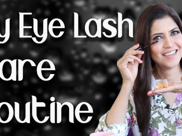 Grow Thicker, Longer, Stronger Lashes Naturally / My Eye Lash Care Routine  - Ghazal Siddique