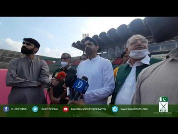 Muhammad Asif Bajwa Secretary PHF on Independence Day Hockey match 14-Aug-2020