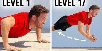 Pushups From Level 1 to Level 17 — What's Yours? (See If You're in Top 5%)