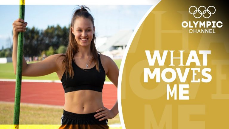 From gymnastics to pole vault via a broken back | What Moves Me