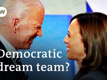 Joe Biden picks Kamala Harris as running mate in US presidential election | DW News