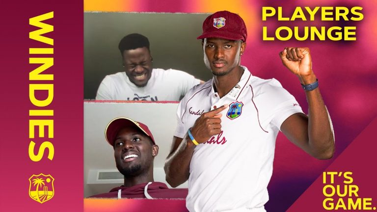 Black Lives Matter and Jason Holder's Impression of the Queen!   Players Lounge   Windies Cricket