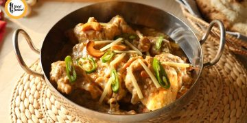 Shahi White Chicken Karahi Recipe By Food Fusion