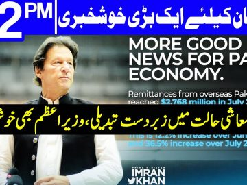 Biggest good news for Pakistan Economy | Headlines 12 PM | 17 August 2020 | Dunya News | DN1