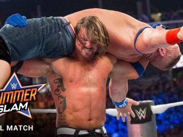 FULL MATCH - John Cena vs. AJ Styles: SummerSlam 2016