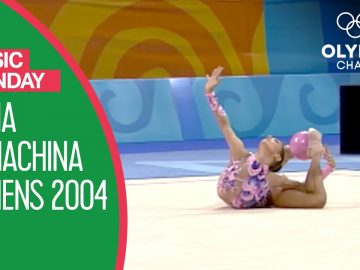 "Irina Tchachina's Silver Medal Routine to ""Harem"" at Athens 2004 
