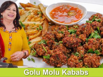 Fun Bite-Sized Golu Molu Kababs Recipe in Urdu Hindi - RKK