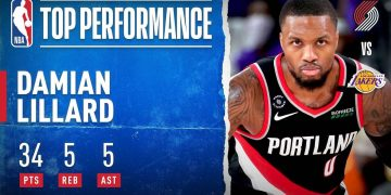 Damian Lillard Fuels Trail Blazers To Game 1 Victory With 34 PTS!
