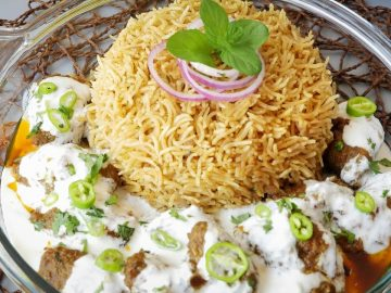 Smoked Kabab & Rice Platter Recipe By Food Fusion (Bakra Eid Special)
