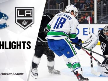 NHL Highlights | Canucks @ Kings 10/30/19