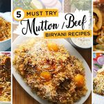Must try Mutton / Beef Biryani Recipes By Food Fusion