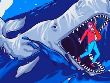 A Legendary Man Survived in a Whale's Stomach
