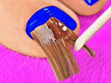 Pedicure And Manicure Nail Transformations || 20 Crazy And Effective Beauty Hacks