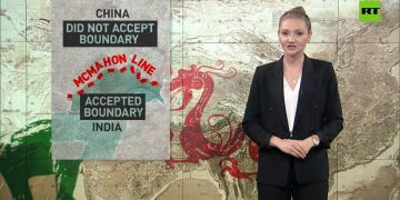 China-India border dispute dates back to the British Empire era