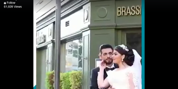 Terrifying moment when another bride posing for photographs on her Wedding Day 18