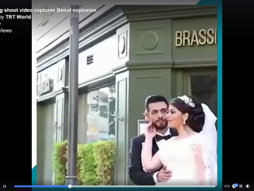 Terrifying moment when another bride posing for photographs on her Wedding Day 7