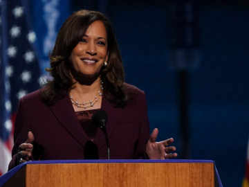 Kamala Harris makes history as first woman of color to accept a major party nomination for vice president 3