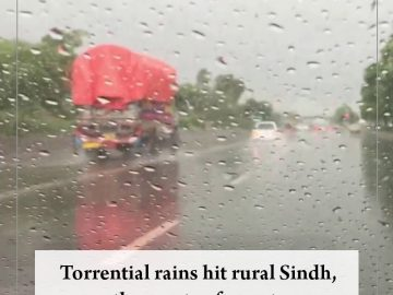 Torrential rains hit rural #Sindh, other parts of country Read more: #TheNews... 12